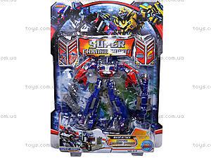 Детский трансформер «Робот-грузовик», 3-2, toys.com.ua
