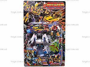 Детский трансформер-робот, игрушечный, 8760