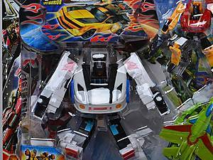 Детский трансформер-робот, игрушечный, 8760, купить