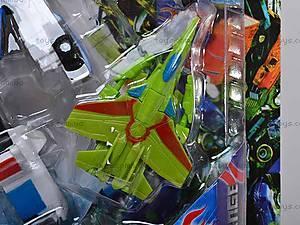 Детский трансформер-робот, игрушечный, 8760, фото