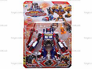 Детский трансформер Super Change Robot, 8-25