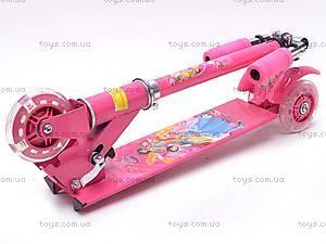 Детский трехколесный самокат для девочки, FC403, купить