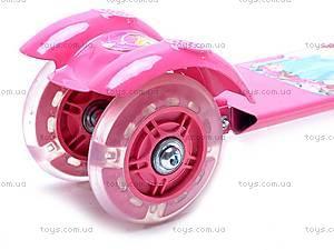 Детский трехколесный самокат для девочки, FC403, игрушки
