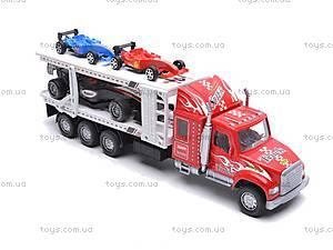 Детский трейлер-автовоз, 56709