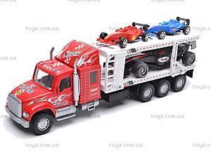 Детский трейлер-автовоз, 56709, купить