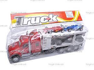 Детский трейлер-автовоз, 56709, фото
