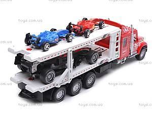 Детский трейлер-автовоз, 56709, цена
