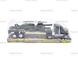 Детский трейлер с вертолетом, 6899-FD, цена