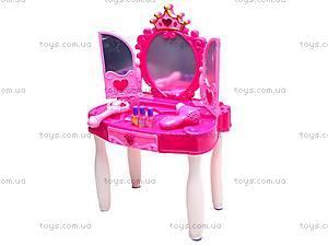 Детский туалетный столик с аксессуарами, 661-35A, фото