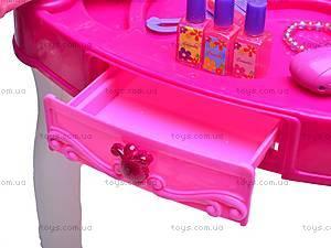 Детский туалетный столик с аксессуарами, 661-35A, отзывы