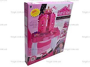 Детский туалетный столик с аксессуарами, 661-35A, цена