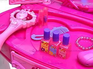 Детский туалетный столик с аксессуарами, 661-35A, игрушки