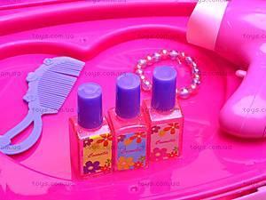 Детский туалетный столик с аксессуарами, 661-35A, детские игрушки