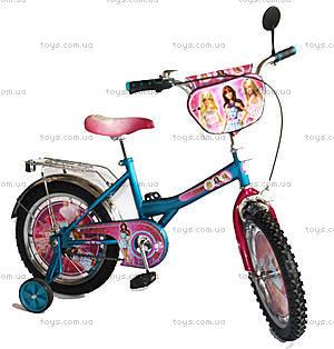 Детский велосипед «Барби», голубой с розовым, BT-CB-0021