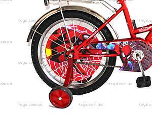 Детский велосипед «Спайдермен», синий с красным, BT-CB-0007, купить
