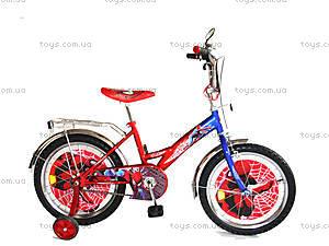 Детский велосипед «Спайдермен», синий с красным, BT-CB-0007