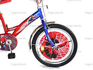 Детский велосипед «Спайдермен», синий с красным, BT-CB-0007, фото