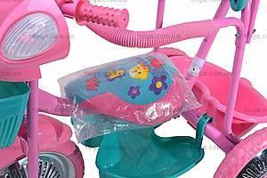 Детский велосипед, трехколесный, CT-117A4, игрушки