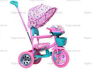 Детский велосипед трехколесный, CT-R117A-2A