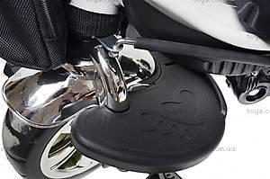 Детский велосипед трехколесный «Lexus Trike», KR-01 БЕЛ, детские игрушки