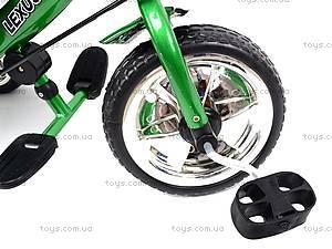 Детский велосипед трехколёсный, зеленый, XG18919-T16-2, купить