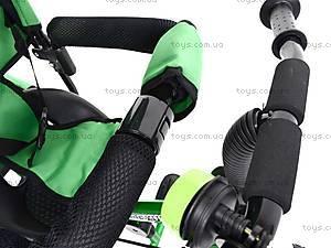 Детский велосипед трехколёсный, зеленый, XG18919-T16-2, фото