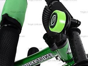 Детский велосипед трехколёсный, зеленый, XG18919-T16-2, магазин игрушек