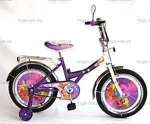Детский велосипед «Винкс», сиреневый с белым, BT-CB-0017