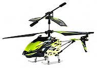 Детский вертолёт WL Toys с автопилотом (зеленый), WL-S929g, іграшки