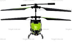 Детский вертолёт WL Toys с автопилотом (зеленый), WL-S929g, отзывы