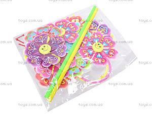 Детский ветрячок «Цветочек», 2470-4, детские игрушки