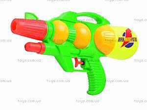 Детский водяной пистолет с помпой, 403, купить