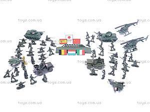 Детский военный набор с солдатиками, 2010C2