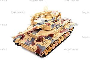 Детский военный танк на радиоуправлении, 2171, игрушки