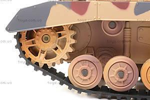 Детский военный танк на радиоуправлении, 2171, детские игрушки