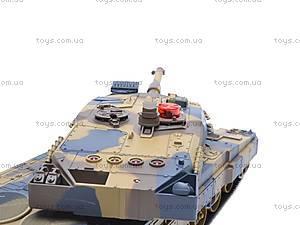 Детский военный танк, на управлении, 516-10A, детские игрушки