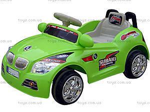 Детский зеленый электромобиль, C-002