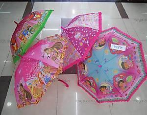 Детский зонт «Любимые мультфильмы», D01820