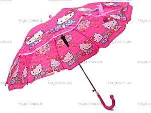 Детский зонтик с героями мультфильмов, 031-3, фото