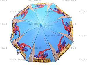 Детский зонтик с героями мультфильмов, 031-3, игрушки