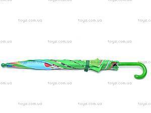 Детский зонтик с героями мультфильмов, 031-3, детские игрушки