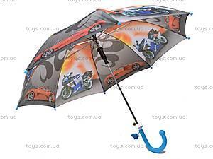 Детский зонтик со свистком, 031-5, фото