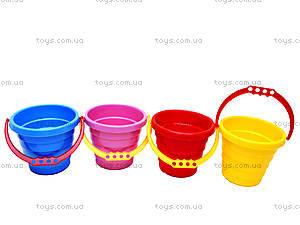 Детское цветное ведерко, 0472, toys.com.ua