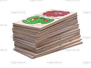 Детское деревянное домино, MD0017, отзывы
