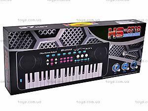 Детское игрушечное пианино, 3718, купить