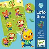 Настольная игра «Лото с друзьями», DJ08124
