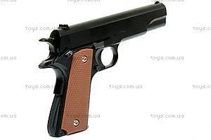 Детское металлическое оружие, с пулями, G29, детские игрушки