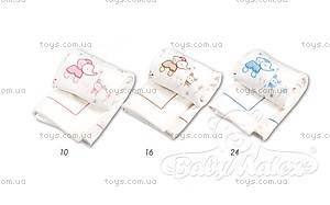 Детское одеяло на выписку Pinni, розовое, 0205-10, купить