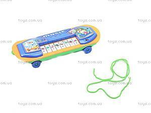 Детское пианино-скейт, 06-18