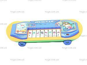 Детское пианино-скейт, 06-18, игрушки